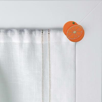 Gommini con calamite decorative per astina Magnetic - Arancia in ABS