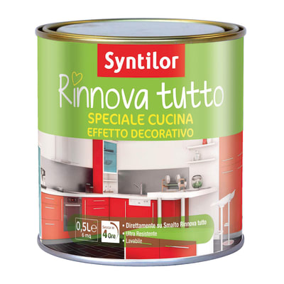 Vernice Finitura Syntilor Trasparente opaco 0,5 L