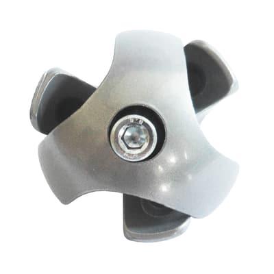 Giunto a prisma Prisma & Cubic cromo ø 2,5 cm