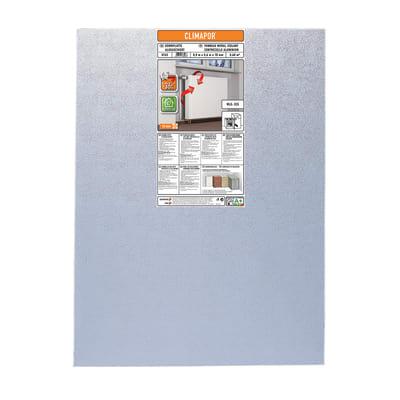 Pannelli isolanti in polistirene estruso con rivestimento in alluminio L 0,8 m x H 0,6 m, spessore 10 mm