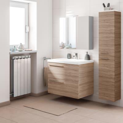 Mobile bagno Elea rovere L 71,5 cm