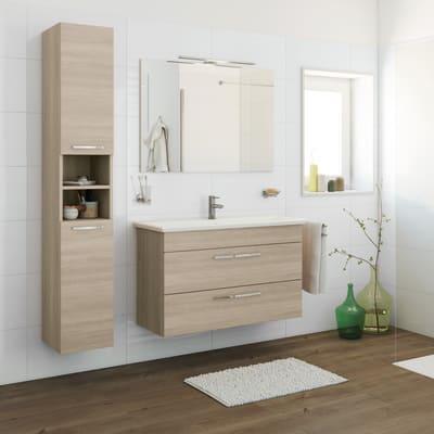 Mobile bagno Giò olmo rousseau L 105 cm