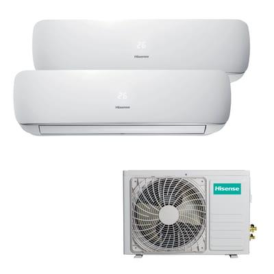 Climatizzatore fisso inverter dualsplit Hisense Mini Apple Pie 2.5 + 3.5 kW