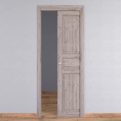 Porta da interno scorrevole Beethoven shabby chic 70 x H 210 cm reversibile