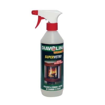 Pulitore Diavolina Supervetro 500 ml