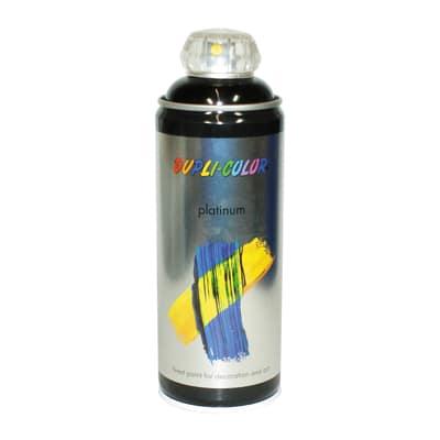 Smalto spray Platinum nero RAL 9005 Lucido 400 ml