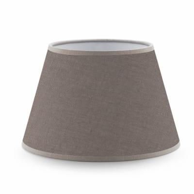 Paralume per lampada da comodino personalizzabile Impero tortora