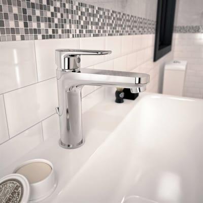 Miscelatore lavabo Tyria cromato