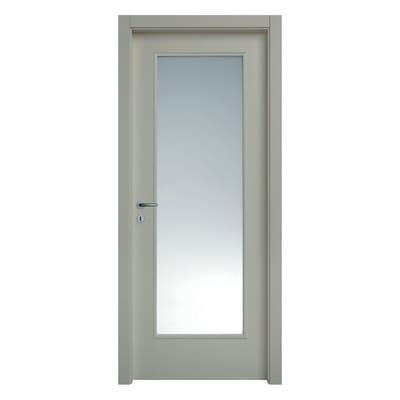 Porta da interno battente Cinder grigio 70 x H 210 cm dx