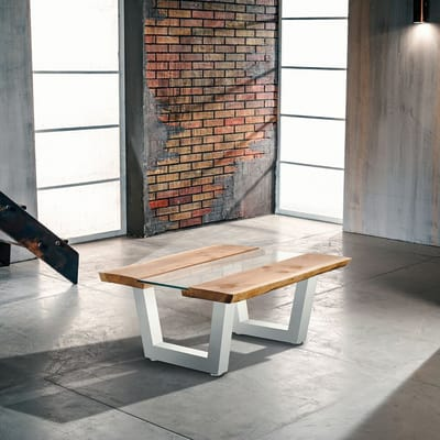 Coppia gambe per tavolo metallo l 70 x p 10 x h 35 cm for Leroy merlin gambe tavolo