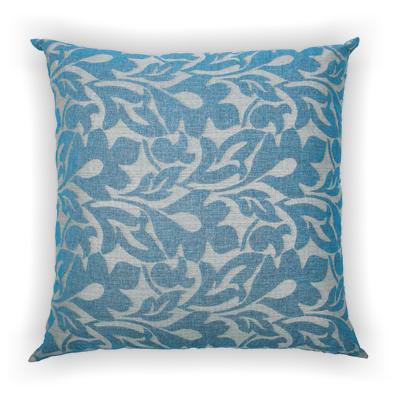 Cuscinone relax Maxi musa blu retro tinta unita 130 x 130 cm
