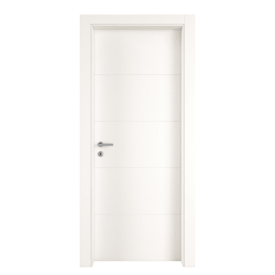 Porta da interno battente Prado bianco 70 x H 210 cm dx