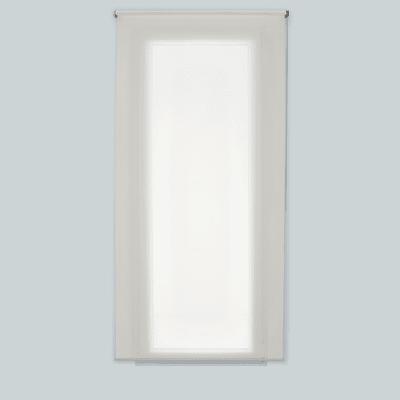 Tenda a rullo Mesh bianco 80 x 250 cm