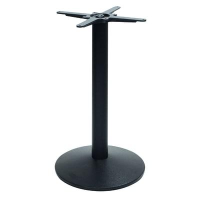 Struttura tavolo in ghisa, H 73 cm nero