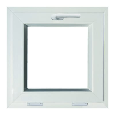 finestra pvc bianco l 50 x h 50 cm prezzi e offerte online On finestre in pvc leroy merlin