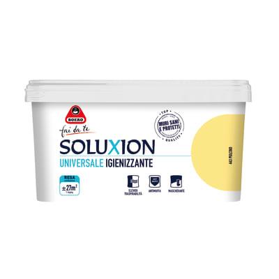 Idropittura igienizzante antimuffa soluxion pulcino 2 5 l for Leroy merlin boero
