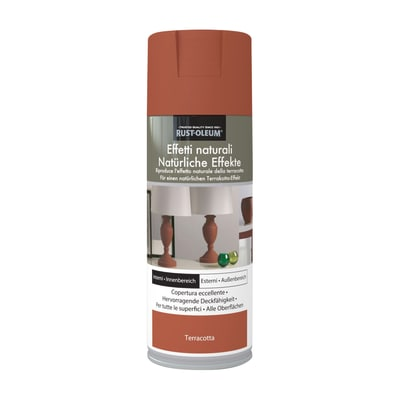 Spray effetto Rustolium terracotta rosso 400 ml