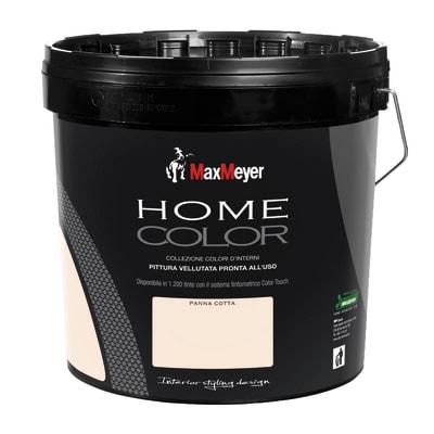Idropittura lavabile Home Color panna cotta 10 L Max Meyer