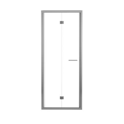 Porta doccia record 77 81 h 195 cm vetro temperato 6 mm for Vetro doccia leroy merlin