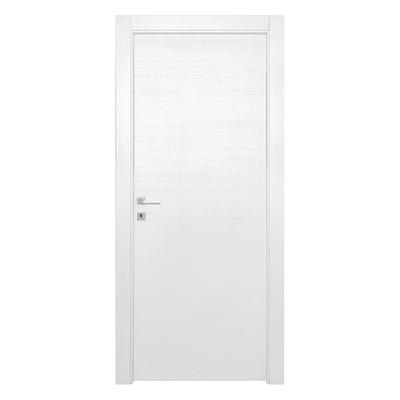 Porta da interno battente Star Bianco Matrix 90 x H 210 cm reversibile