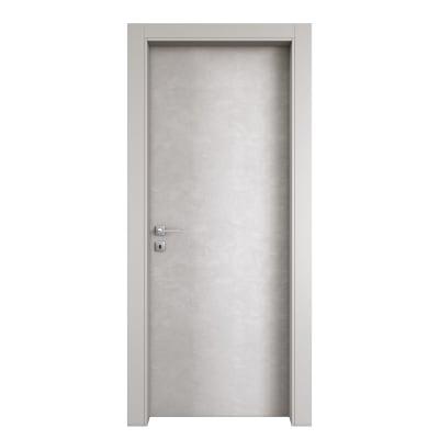 Porta da interno battente Hunk luna 80 x H 210 cm dx