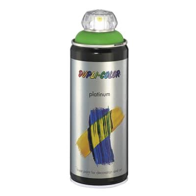 Smalto spray Platinum verde giallo RAL 6018 satinato 400 ml