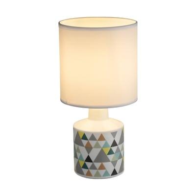 Lampada da tavolo Siula triangoli
