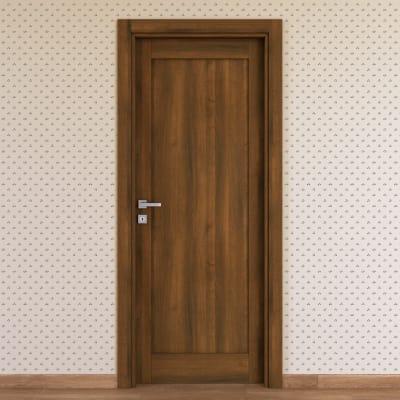 Porta da interno battente Sargas noce 80 x H 210 cm dx