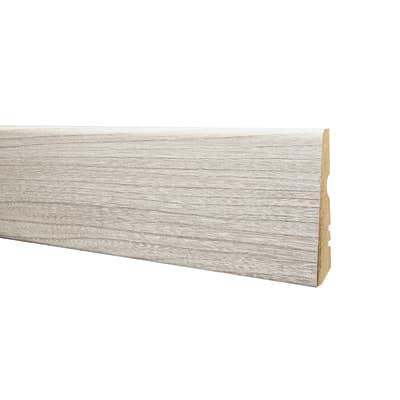 Battiscopa carta finish rivestito cipria 15 x 70 x 2400 mm