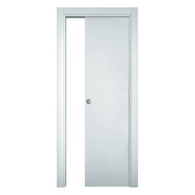 Porta da interno scorrevole Rail bianco 70 x H 210 cm reversibile