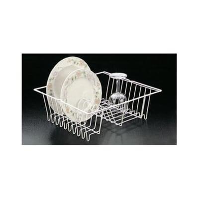 Scolapiatti bianco L 36 x P 33 cm