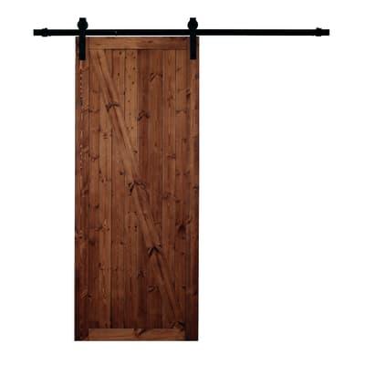 Porta da interno scorrevole factory noce 86 x h 213 cm for Ikea coprifili