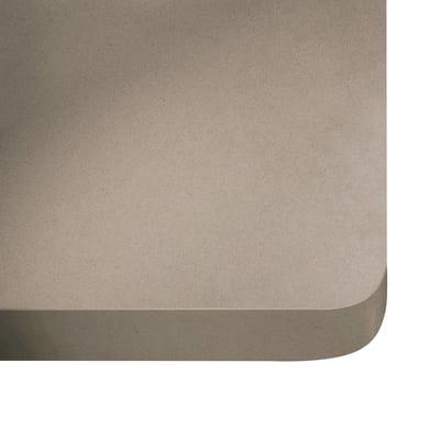 Alzatina su misura Rogui quarzo beige scuro H 6 cm
