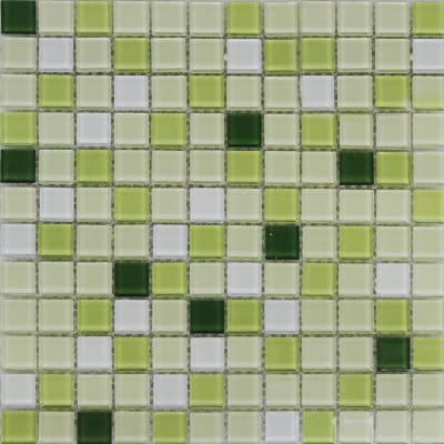 Mosaico Shaker 30 x 30 cm verde