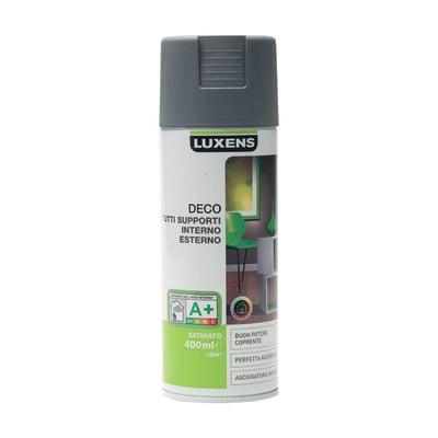 Smalto spray Deco Luxens Grigio Sasso 1 satinato 400 ml