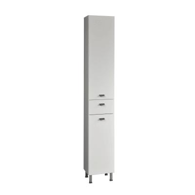 Colonna Rimini bianco 2 ante, 1 cassetto L 30 x H 195 x P 34 cm