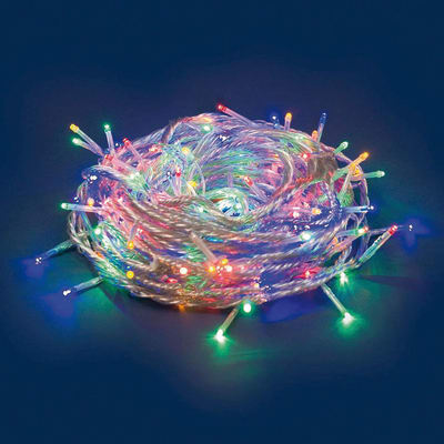 Catena luminosa 180 minilucciole Led multicolore 17,1 m