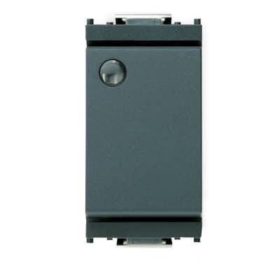 Deviatore 16A 1P illuminato Vimar Idea grigio