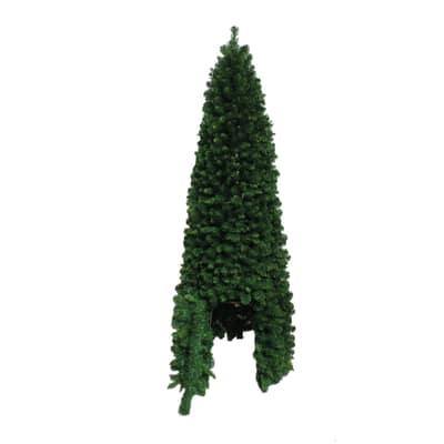 Albero di Natale artificiale con porta H 180 cm