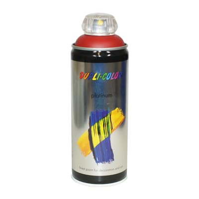 Smalto spray Platinum rosso rubino RAL 3003 satinato 400 ml