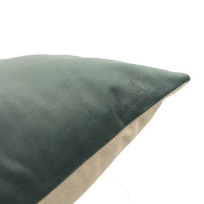 Cuscino Misty verde retro tinta unita 40 x 40 cm