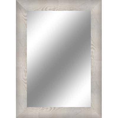 Specchio Da Parete Rettangolare Toora Bianco 70 X 90 Cm Prezzi E