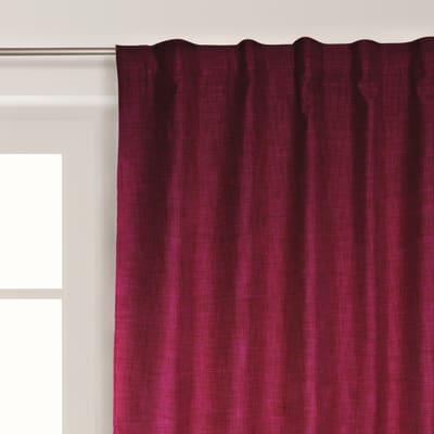 Tenda Lin ignifuga rosso 140 x 300 cm