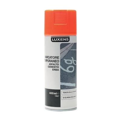Smalto spray Marcatore Temporaneo Luxens rosso opaco 400 ml