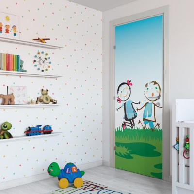 Porta da interno battente Junior 80 x H 210 cm dx