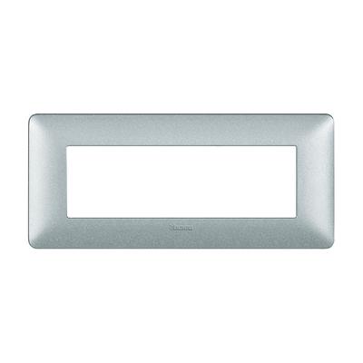 Placca 6 moduli BTicino Matix bianco calce