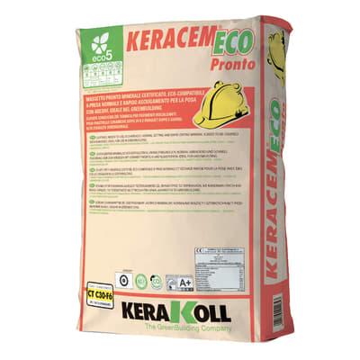 Massetto di fondo Keracem Eco Pronto Kerakoll 30 kg