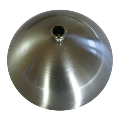 Rosone per lampadari acciaio satinato prezzi e offerte for Lampadari leroy merlin prezzi