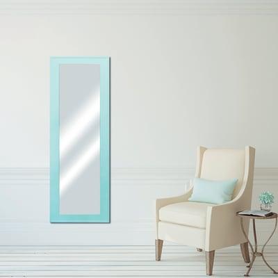 specchio da parete rettangolare Prince azzurro 44 x 144 cm