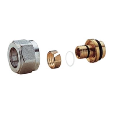 Adattatore per valvola per tubo multistrato da 14x2 mm